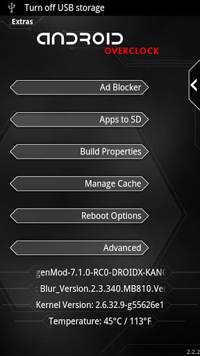 Overclock for Android free download for Asus ZenPad C 7 0