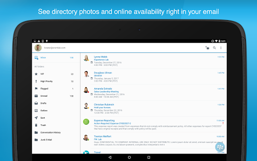 Download free BlackBerry Work 2 7 1 822 APK for Android