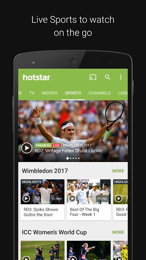 Hotstar free download for HTC Desire 728 Dual SIM, APK 5 17 15 for