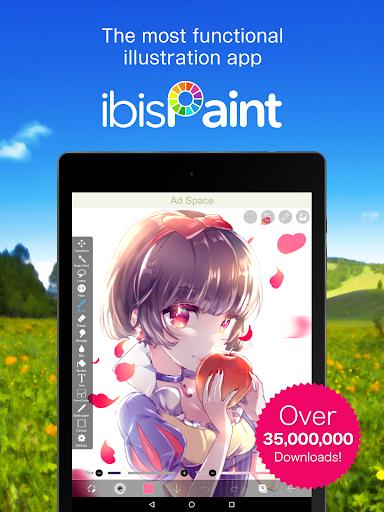 ibis Paint X free download for Meizu Pro 7 Plus, APK 5 5 3 for Meizu