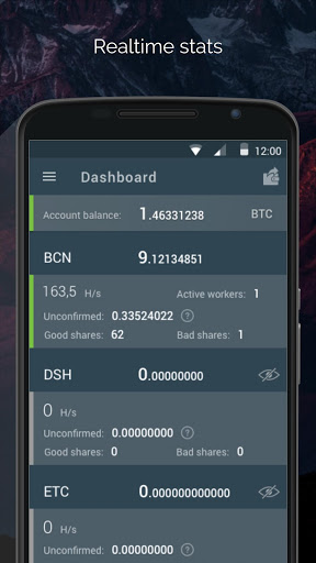 Download free MinerGate Mobile Miner 2 4 APK for Android