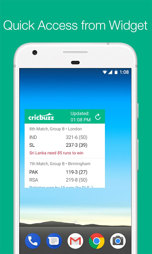 Cricbuzz Cricket Scores & News free download for Micromax Bolt A35