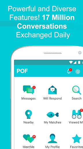 POF Free Dating App free download for Infinix Hot 4 Pro, APK