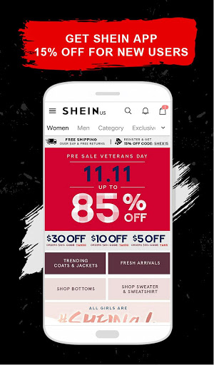 f287a6980d Screenshosts of SHEIN. Description of SheIn - Shop Women's Fashion
