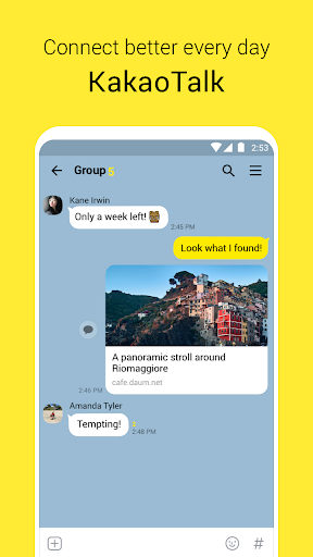 Download free KakaoTalk: Free Calls & Text 7 3 6 APK for Android