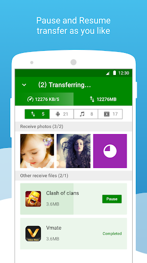 Xender - File Transfer & Share free download for Samsung