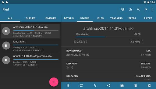 Flud - Torrent Downloader free download for Amazon Kindle