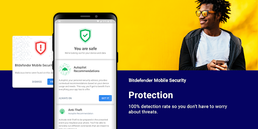 Mobile Security & Antivirus free download for Gionee F103 Pro, APK