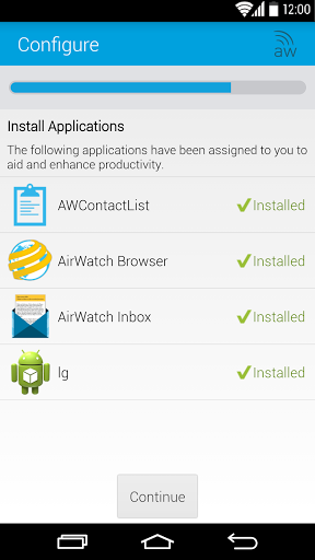 Download free AirWatch Agent 9 0 1 25 APK for Android