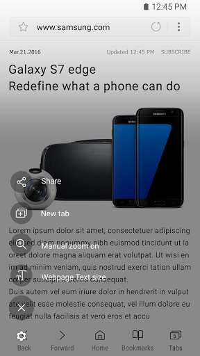 Download free Samsung Internet 8 2 01 2 APK for Android