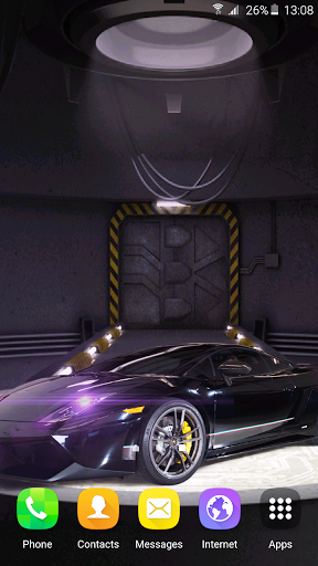 Download Free 3d Cars Clock Wallpaper Hd 1 7 Apk For Android