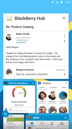 Download free BlackBerry Hub 1 6 1 15188 APK for Android