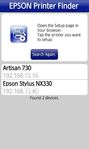 Download free Epson Printer Finder 1 3 0 APK for Android