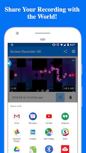 REC Screen Recorder HD free download for Lenovo A369i, APK