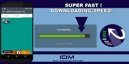 Download free IDM Download Manager 4 FB Lite 6 35 APK for