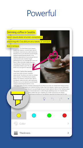 Microsoft Word free download for Lenovo Idea Tab A1000, APK